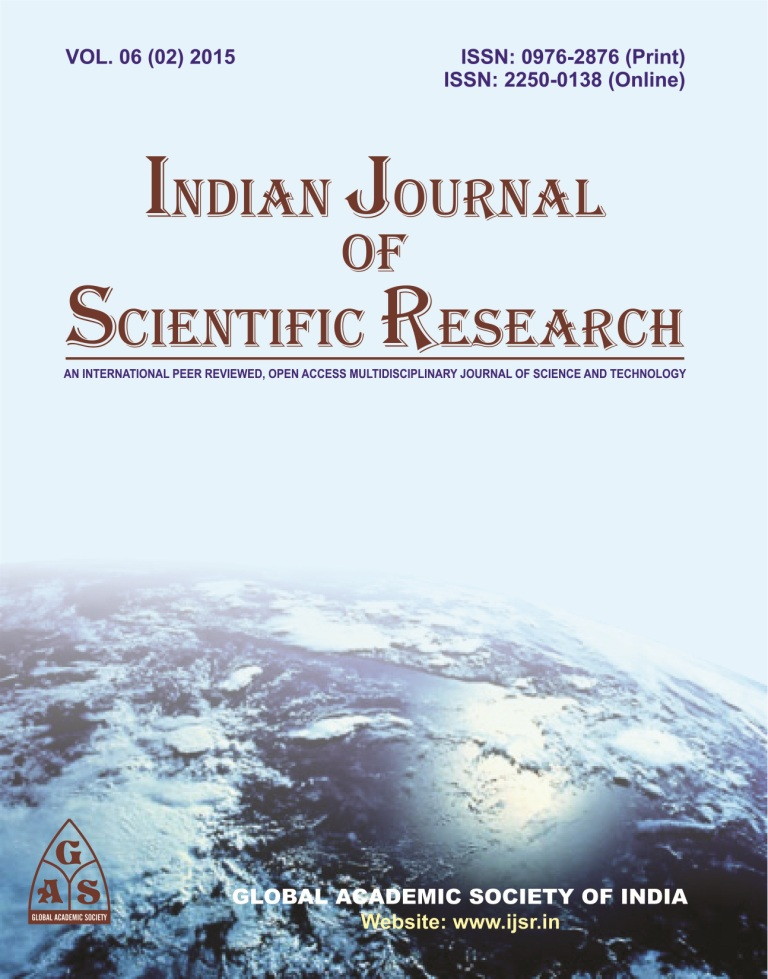 journal of indian research The indian journal of medical research is a peer-reviewed online open-access medical journal, available as a print-on-demand compilation it is published by medknow publications on behalf of the indian council of medical research.