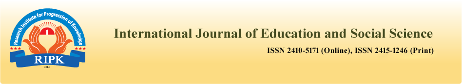 International Journal of Education and Social Science