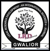 Legal Research Development an international refereed e journal