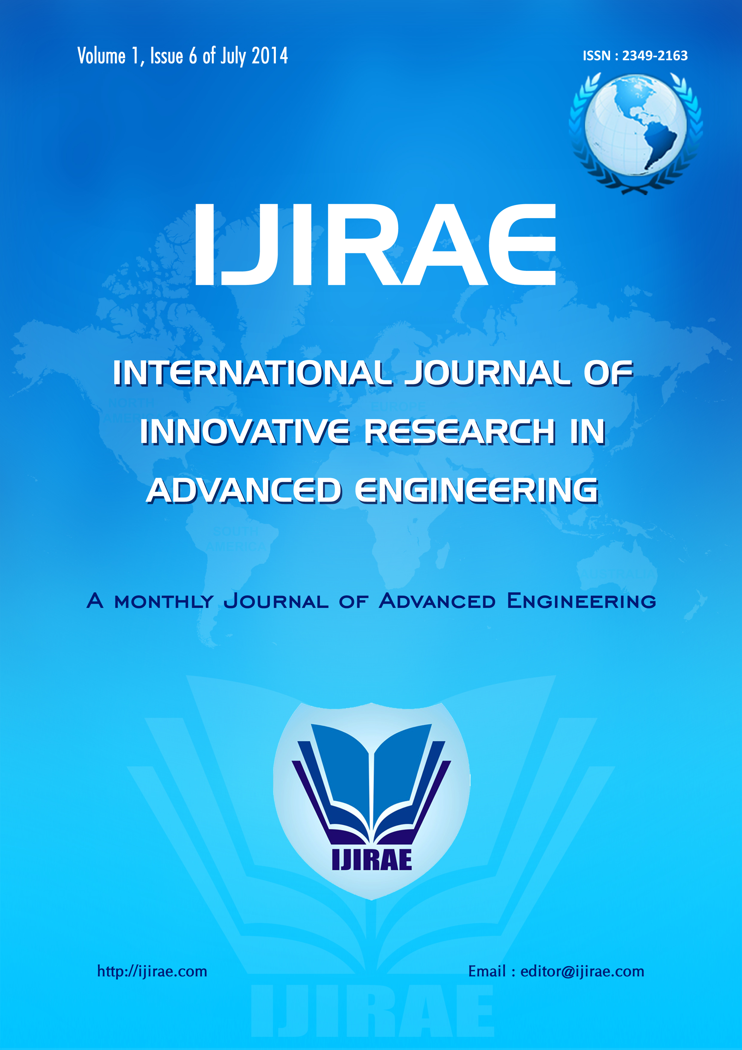 International Journal of Innovative Research in Advanced Engineering