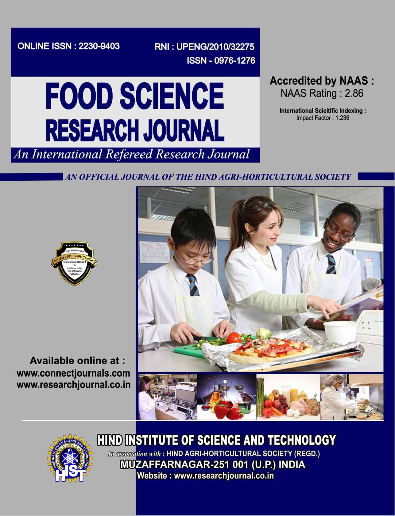 Food Sci. Res. J