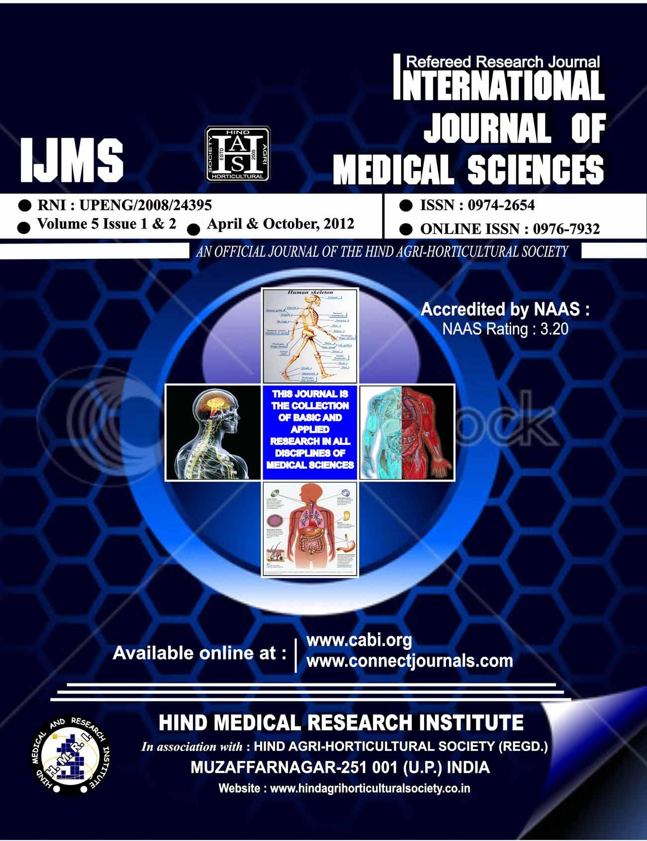 Internat. J. Med. Sci.