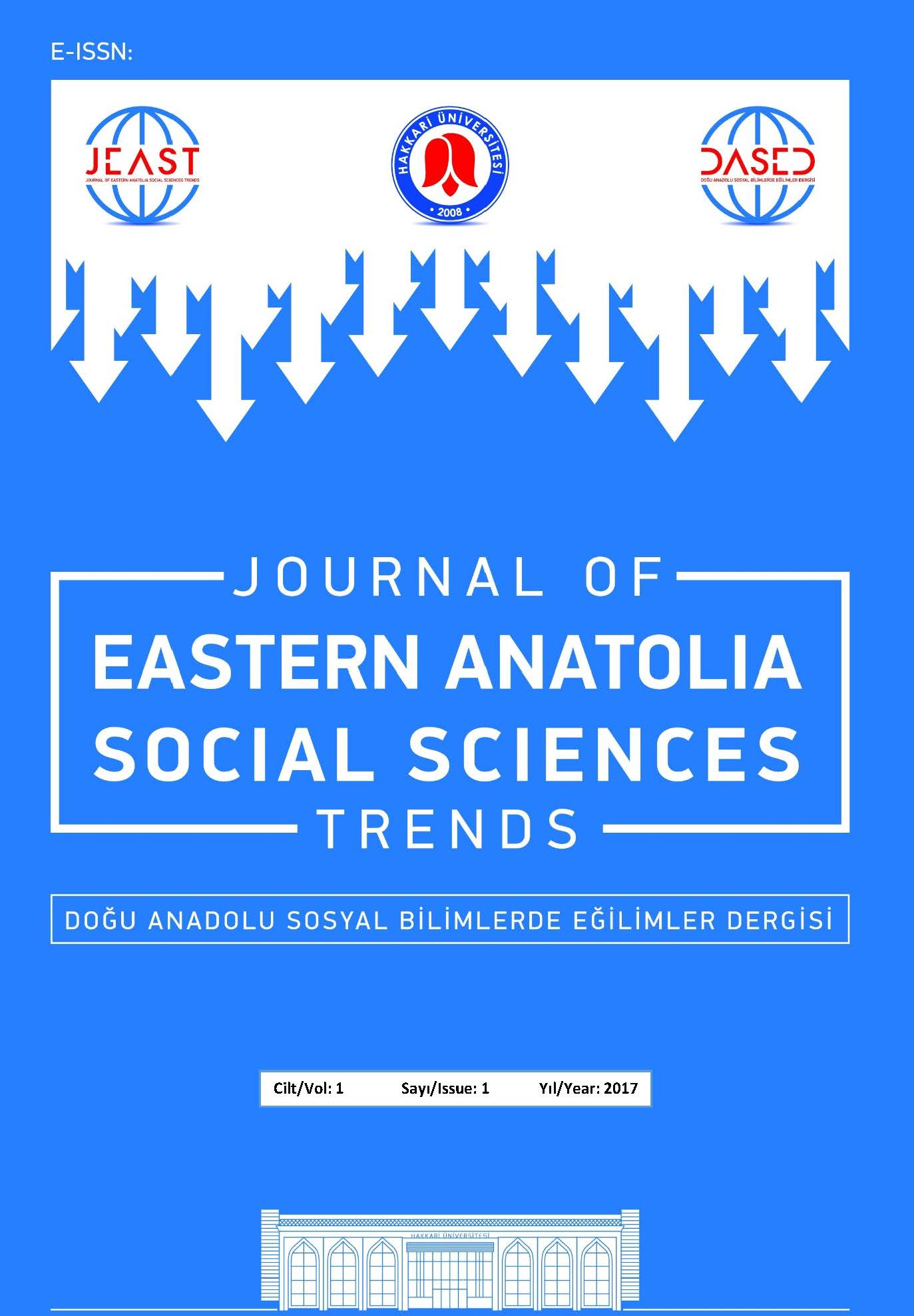 Journal of Eastern Anatolia Social Science Trends
