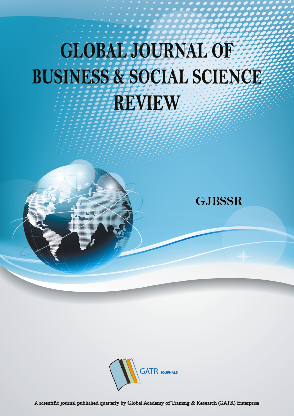 Global Journal of Business and Social Sciences Review