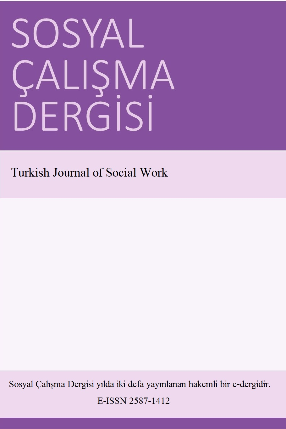 Turkish Journal of Social Work