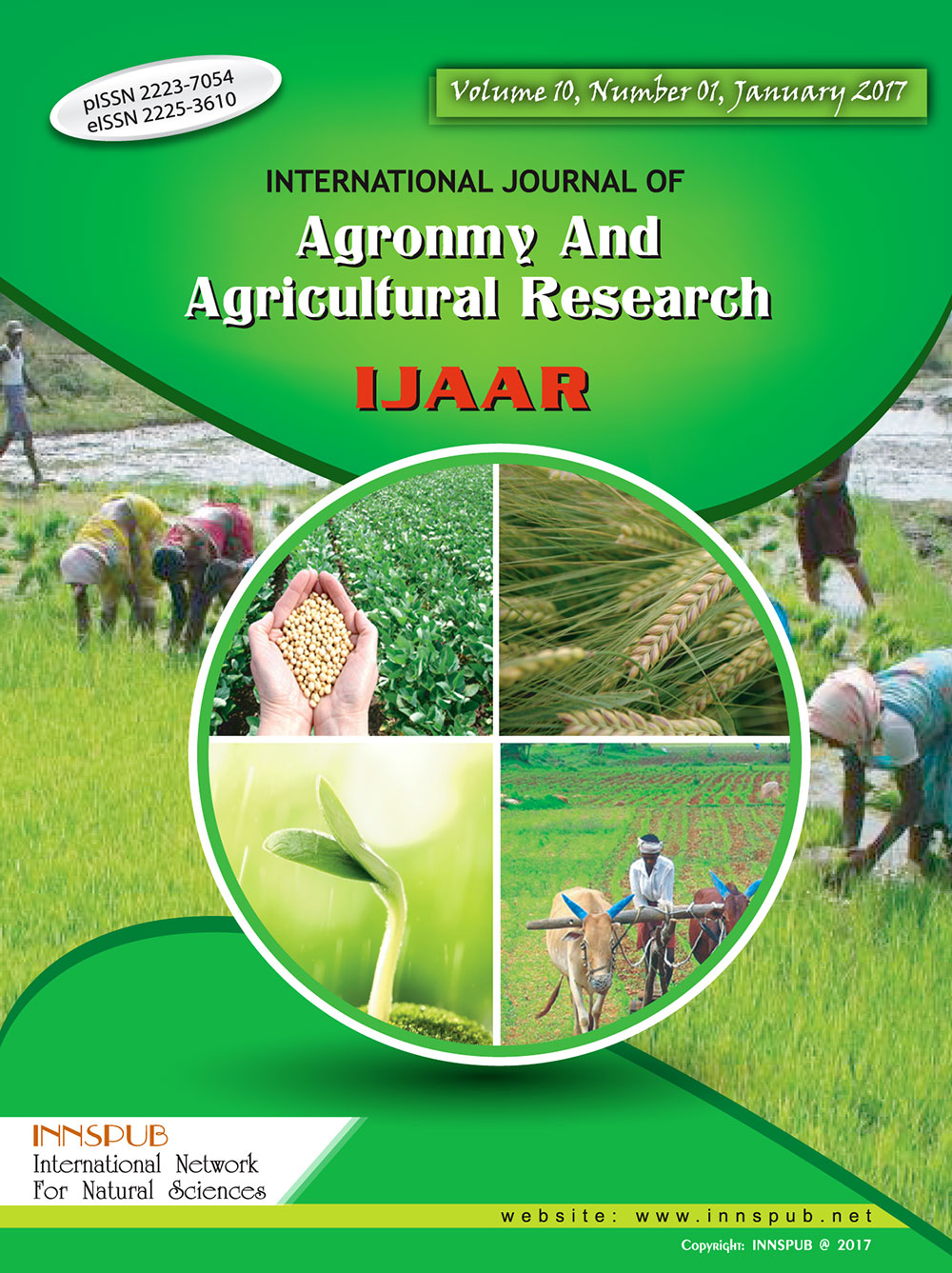 International Journal of Agronomy and Agricultural Research