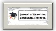 Journal of Anatolian Education Research